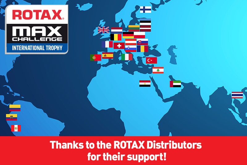 Thanks to the Rotax Distributors!