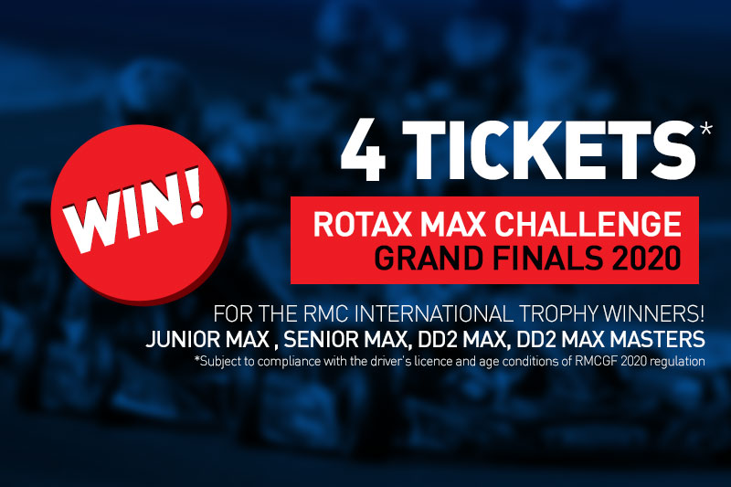 4 tickets to win for the RMC GRAND FINALS 2020!